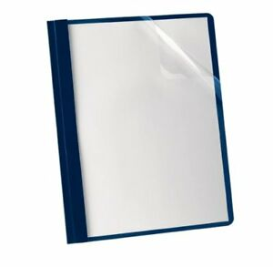 Oxford Premium Clear Front Report Covers Letter 8 50 X 11 Tang Fastener