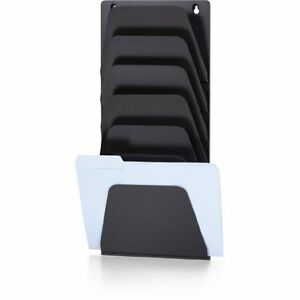 Oic 7 Compartment Wall File Holder Wall Mountable 22 4 Height X oic21505