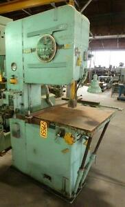 Doall Vertical Band Saw 26 29551