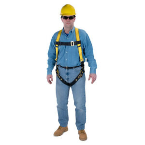 Msa Workman Safety Harness 3 D Rings W Tongue Buckles