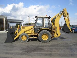 Cat 436b Farm Tractor Loader Backhoe