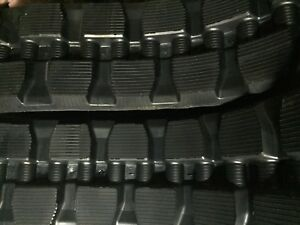 Qty 2 New Bridgestone Rubber Tracks For Bobcat T180 T190 T590
