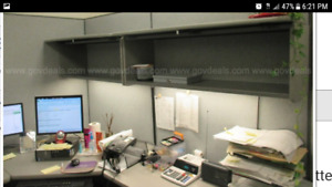 Modular Office Cubicle With 42 door 10ft By 8ft