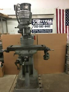 Bridgeport Milling Machine 36 Table Power Feed