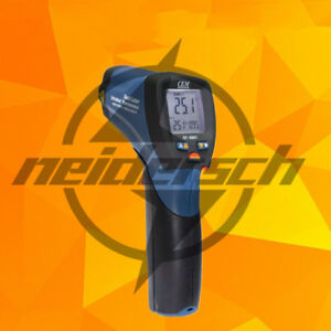 Dt 8861 Infrared Thermometer double Laser Infrared Thermometer 8 14u Cem New