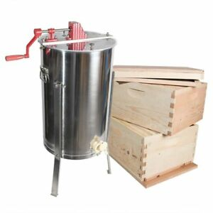 Goodland Bee Supply Gl e2 2bk Beekeeping Double Deep Beehive Kit