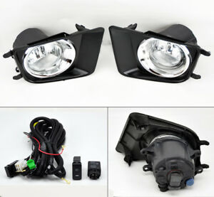 Toyota Tacoma 12 15 Chrome Fog Lights W Covers Wiring Pair Rh Lh Right Left