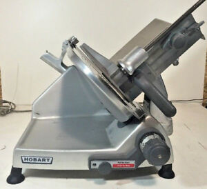 Hobart 2812 12 Manual Meat Cheese Deli Slicer Smooth And Quiet
