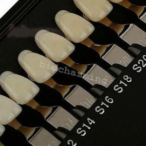 Dental Tooth Teeth Whitening R20 3d Master Shade Guide For Bleaching Comparing