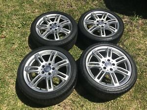 Mercedes Benz Slk 230 R170 Oem 17 Inch Wheels And Tires Factory