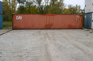 Used Shipping Storage Containers For Sale 40ft Wwt 1900 Cleveland Oh