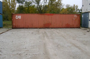 Used Shipping Storage Containers For Sale 40ft Wwt 1950 Kansas City Ks