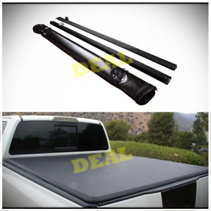 Soft Roll Up Tonneau Cover Fit 04 07 Silverado Sierra 1500 Classic Body 5 8 Bed