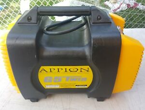 Appion G5 Twin Freon Recovery Machine Works Great
