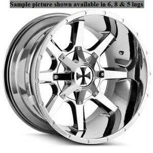 4 New 20 Wheels Rims For Ford F 350 2005 2006 2007 2008 2009 Super Duty 1017