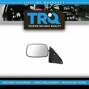 Trq Mirror Side View Manual Stainless Steel Driver Lh For Chevy Gmc Pickup Ck