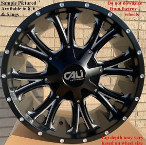 4 New 20 Wheels Rims For Ford F 350 2015 2016 2017 2018 Super Duty 1018