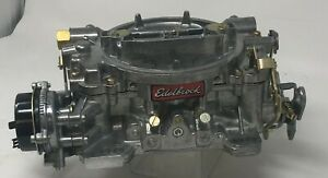 Edelbrock Remanufactured Marine Carburetor 750 Cfm Electric Choke 1410 See Ad