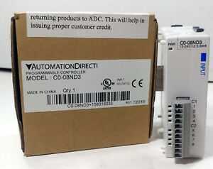 1 New Automation Direct C0 08nd3 Progrmamable Controller Nib make Offer