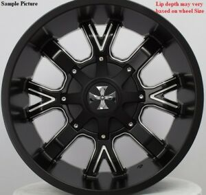 4 New 20 Wheels Rims For Ford F 350 2015 2016 2017 2018 Super Duty 1027