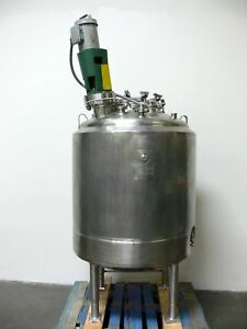 Dci Csm 600 Liter Stainless Steel Reactor W Lightnin Mixer