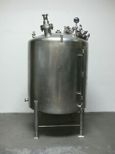 Dci 500 Gallon Stainless Steel Reactor Pressure Vessel