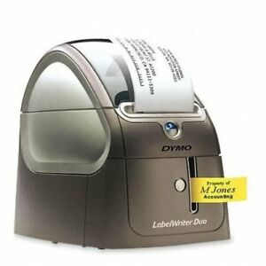 Dymo Labelwriter 450 Duo Label Printer Monochrome Direct Thermal 0 8