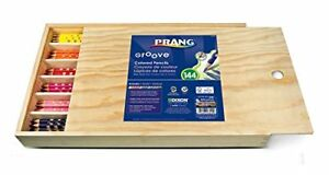 Prang Groove Colored Pencils 3 3 Mm Lead Size Assorted Lead 144 dix28144