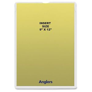 Anglers Heavy Crystal Clear Poly Envelopes Document 9 X 12 ang146850