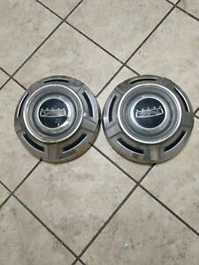 Vintage 60 S 70 S Genuine Ford Truck Dog Dish Hub Caps 12 Pair
