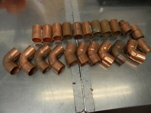 1 Copper Plumbing Fitting Bag Of 22 Pcs