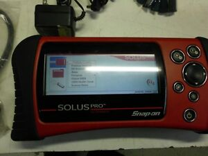 Snap On Tools Solus Pro 13 2 Diagnostic Scanner Domestic Asian