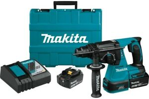Makita Rotary Hammer Drill Cordless Concrete Masonry 18 Volt Brushless Sds Plus