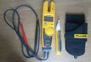 Fluke T5 1000 Voltage Continuity And Current Tester 1000v fluke Voltalert