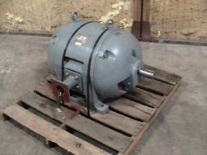 100 Hp Electric Motor Frame 445y 440v 3 Phase tested