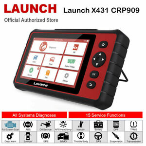Launch Diagnostic Scan Tool Dpf Oil Reset Epb Sas Bms Engine Code Reader Scanner