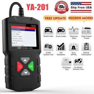 Eucleia S7c Obd2 Automotive Scanner Diagnostic Tool Engine Abs Airbag Epb Trans