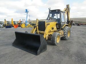 Cat 446b Tlb Farm Tractor Loader Backhoe
