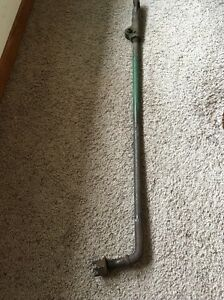 John Deere 5 Sickle Mower Pull Bar With Connection Horn Nut Z979h Jd 7677 2
