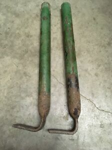 John Deere 8 Sickle Mower Leg Stand Jd Pair Set 2 Very Straight