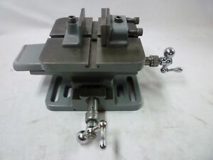Atlas Craftsman Milling Cross Slide Compound Xy Table Drill Press Vise Machining