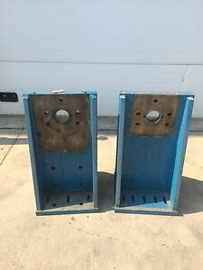 Pair Large Angle Setup Plates 30 5 Tall 1 1 2 Thick Fits Milling Machine Cnc