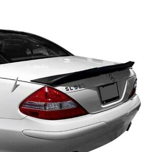 For Mercedes benz Sl63 Amg 10 12 D2s Wald Style Rear Lip Spoiler Unpainted