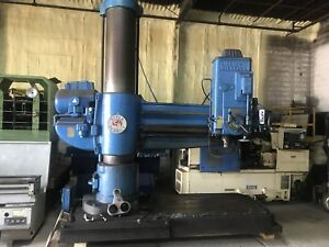 Cincinnati Bickford Radial Arm Drill 6e 967 Super Service