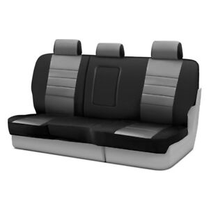 For Dodge Ram 3500 2010 Fia Np92 40 Gray Neo 2nd Row Black Gray Seat Covers