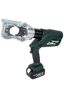 Greenlee E12ccxl12 12 Ton Cordless Hydraulic Crimper Cable Cutter Multi tool New