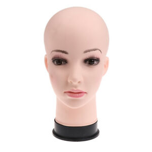 11 inch Female Pvc Mannequin Female Head Model Dummy Wigs Hat Display Stand
