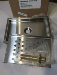 New Delfield 011075237 9 X 6 Stainless Steel Draft Beer Bar Sink Drain Kit