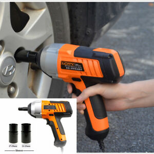 New Electric 1 2 Drive Impact Wrench Heavy Duty Power Kit Cord Tool Work 12v