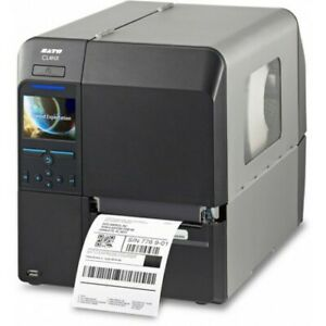 New Sato Cl408nx Industrial Barcode Thermal Transfer Printer wwcl00061